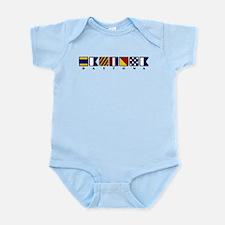 Nautical Daytona Infant Bodysuit