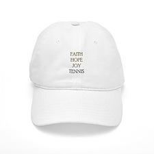 FAITH HOPE JOY TENNIS Baseball Cap