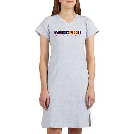 Nautical Newport Women's Nightshirt