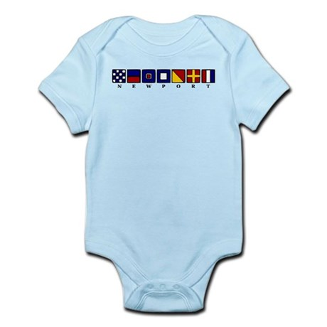 Nautical Newport Infant Bodysuit