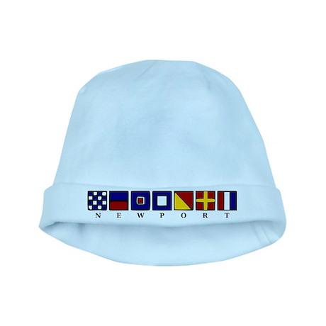 Nautical Newport baby hat