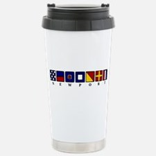 Nautical Newport Travel Mug