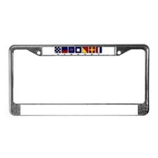 Nautical Newport License Plate Frame