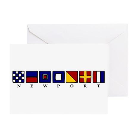 Nautical Newport Greeting Cards (Pk of 10)