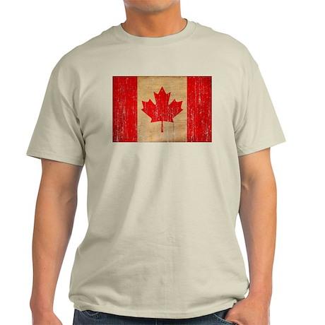 Canada Flag Light T-Shirt