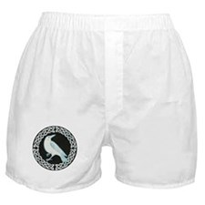 White Crow Celtic design Boxer Shorts