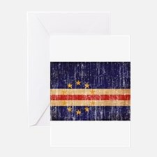 Cape Verde textured aged copy.png Greeting Card