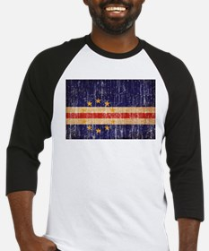 Cape Verde textured aged copy.png Baseball Jersey