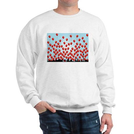 red balloons Sweatshirt
