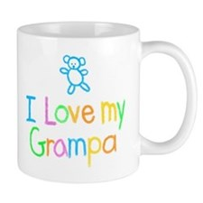 I Love My Grampa Small Mug