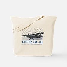 Aircraft Piper PA-18 Tote Bag