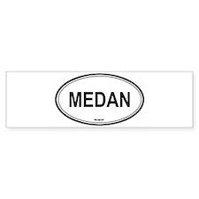 Medan, Indonesia euro Bumper Bumper Sticker
