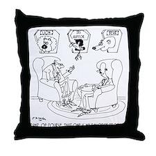 The Taxidermist The IRS Throw Pillow