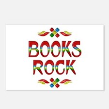 Books Rock Postcards (Package of 8)