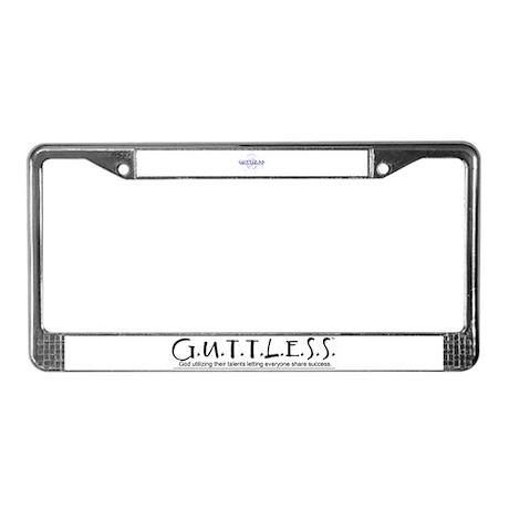 GuttlessGear_Orient License Plate Frame