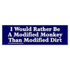 Modified Dirt Bumper Bumper Sticker