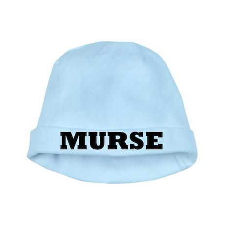 Murse - Male Nurse baby hat
