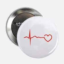 "Heartbeat 2.25"" Button (100 pack)"