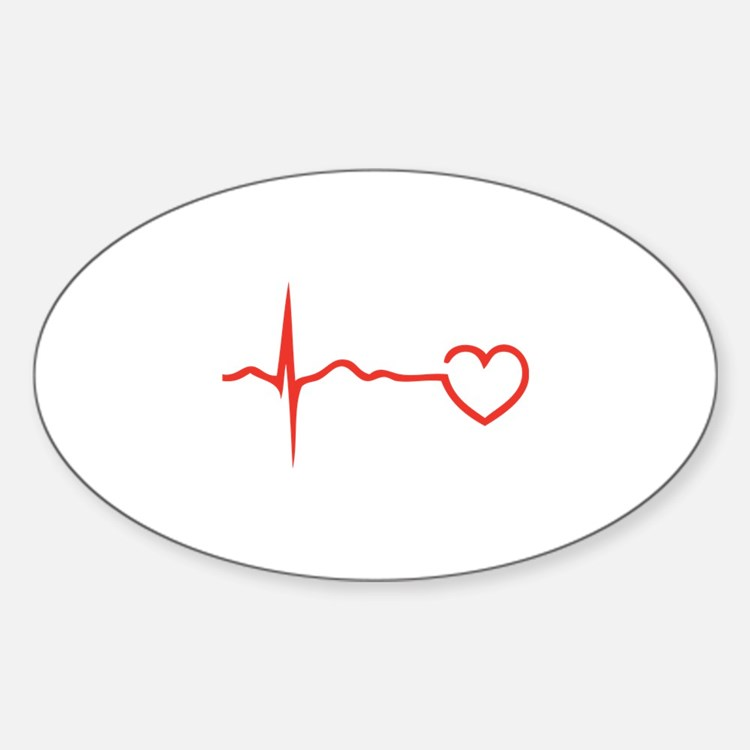 Heartbeat Decal
