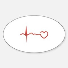 Heartbeat Stickers