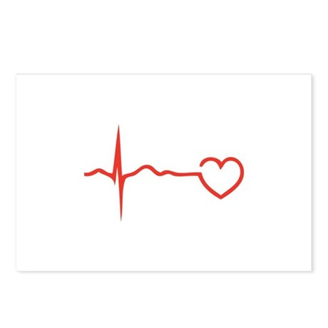 Heartbeat Postcards (Package of 8)