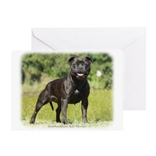 Staffordshire Bull Terrier 9R018D-024_2 Greeting C