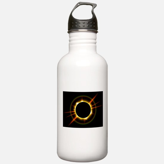 Ring of Fire Eclipse Water Bottle