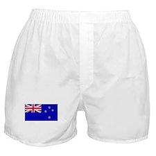 New Zealander Blank Flag Boxer Shorts