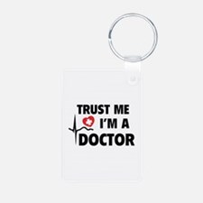 Trust Me I'm A Doctor Keychains