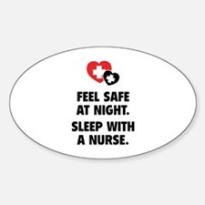 Feel Safe At Night Decal