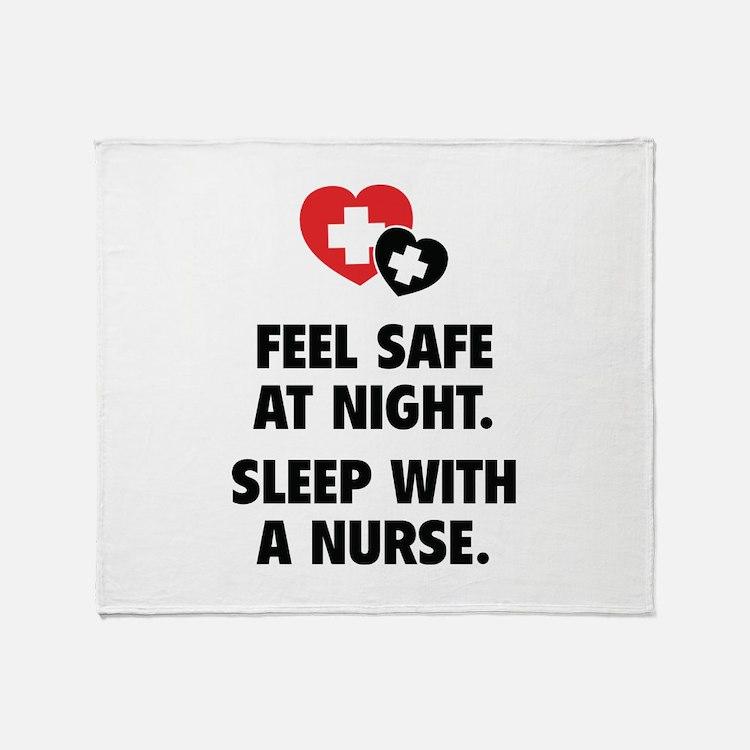 Feel Safe At Night Throw Blanket