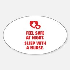 Feel Safe At Night Bumper Stickers