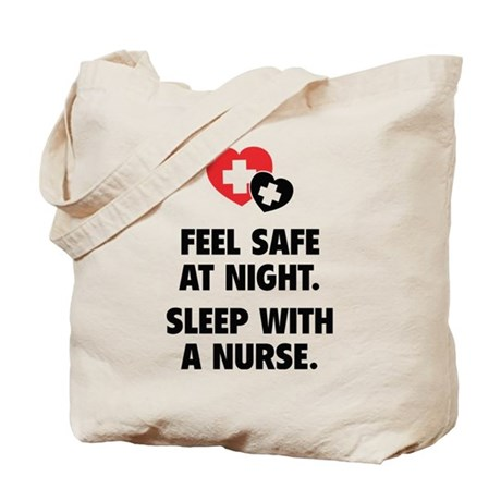 Feel Safe At Night Tote Bag
