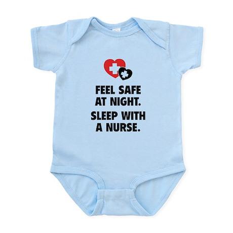 Feel Safe At Night Infant Bodysuit