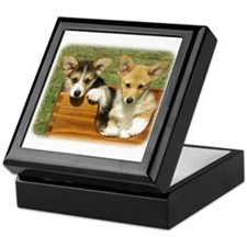 Welsh Corgi (Pembroke) 9K25D-24 Keepsake Box