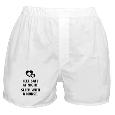 Feel Safe At Night Boxer Shorts