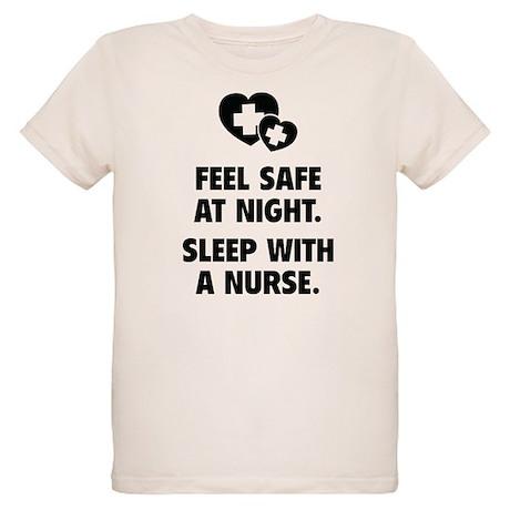 Feel Safe At Night Organic Kids T-Shirt