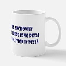 Purpose of Evolution is Pizza Mug