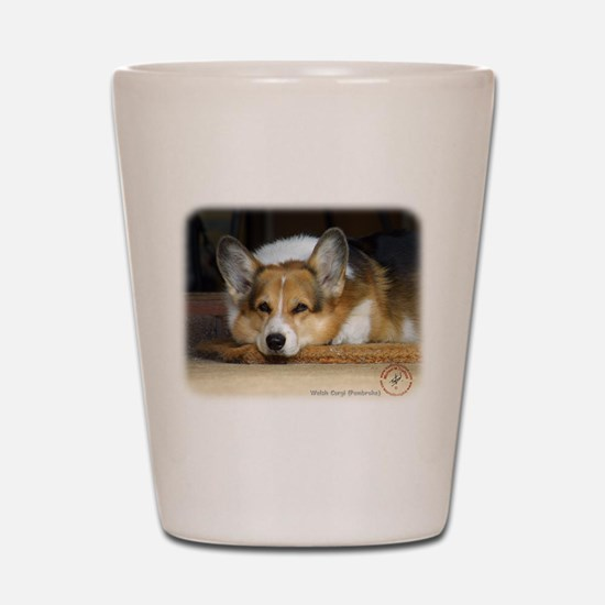 Welsh Corgi Pembroke 9R022-030_2 Shot Glass