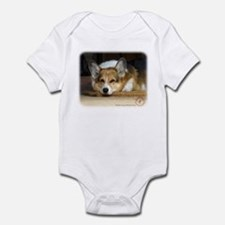 Welsh Corgi Pembroke 9R022-030_2 Infant Bodysuit