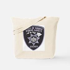 Hawaii Sheriff Tote Bag