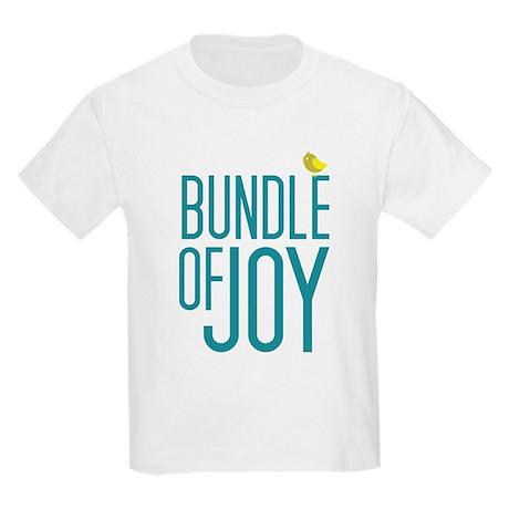 Bundle of Joy in Blue Kids Light T-Shirt