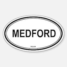 Medford (Oregon) Oval Decal