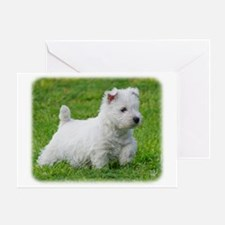 West Highland White Terrier AA060D-013 Greeting Ca