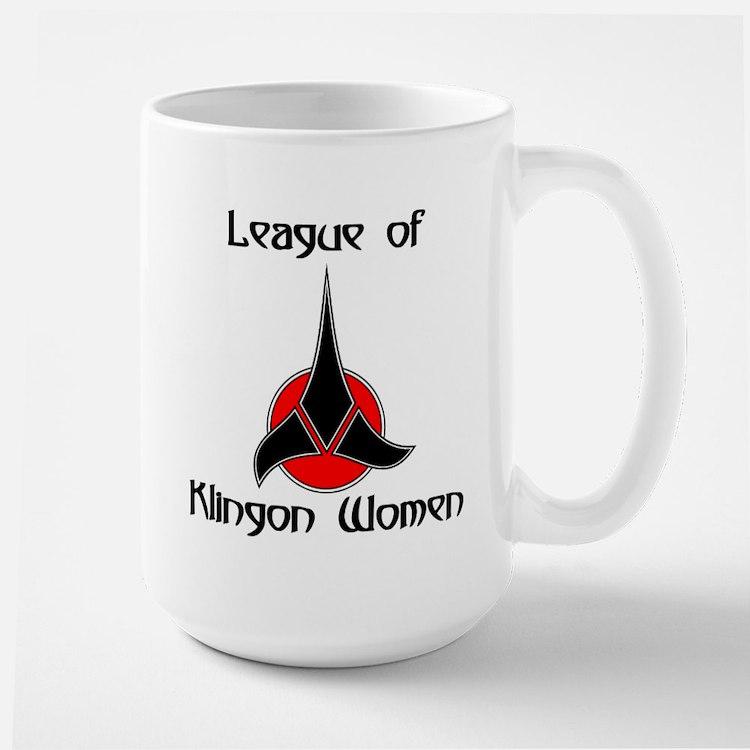 Klingon Women Large Mug