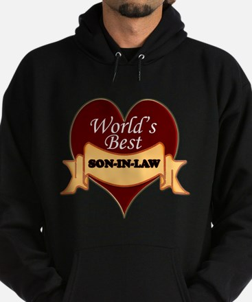Cute Pancreatic cancer for son in law Hoodie (dark)