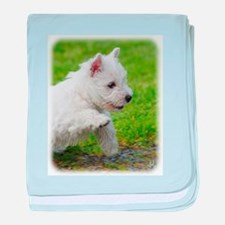 West Highland White Terrier AA060D-020 baby blanke