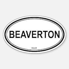 Beaverton (Oregon) Oval Decal