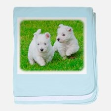West Highland White Terrier AA060D-024 baby blanke