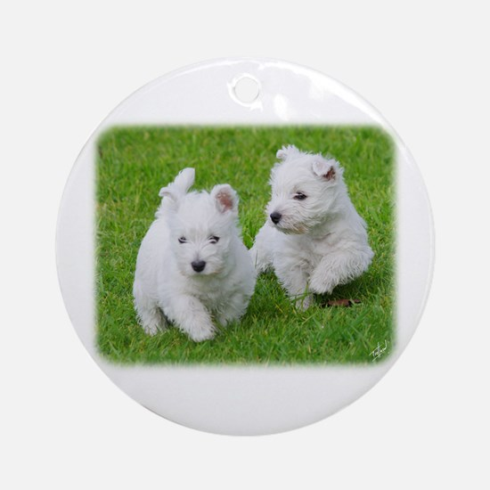 West Highland White Terrier AA060D-024 Ornament (R